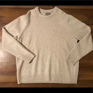 Duluth Trading Shetland Wool Pullover Sweater